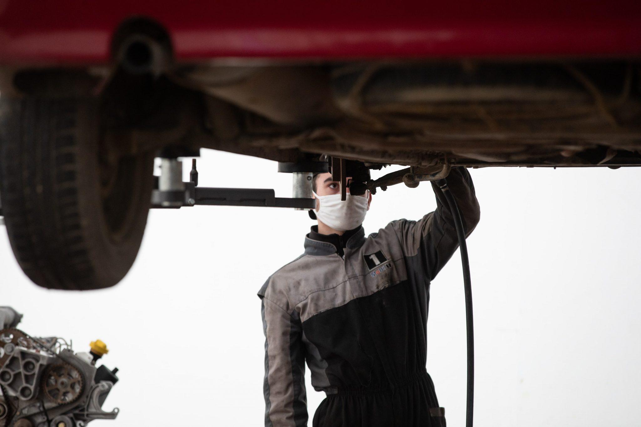 formation mécanique auto st Michel en Bretagne à Priziac