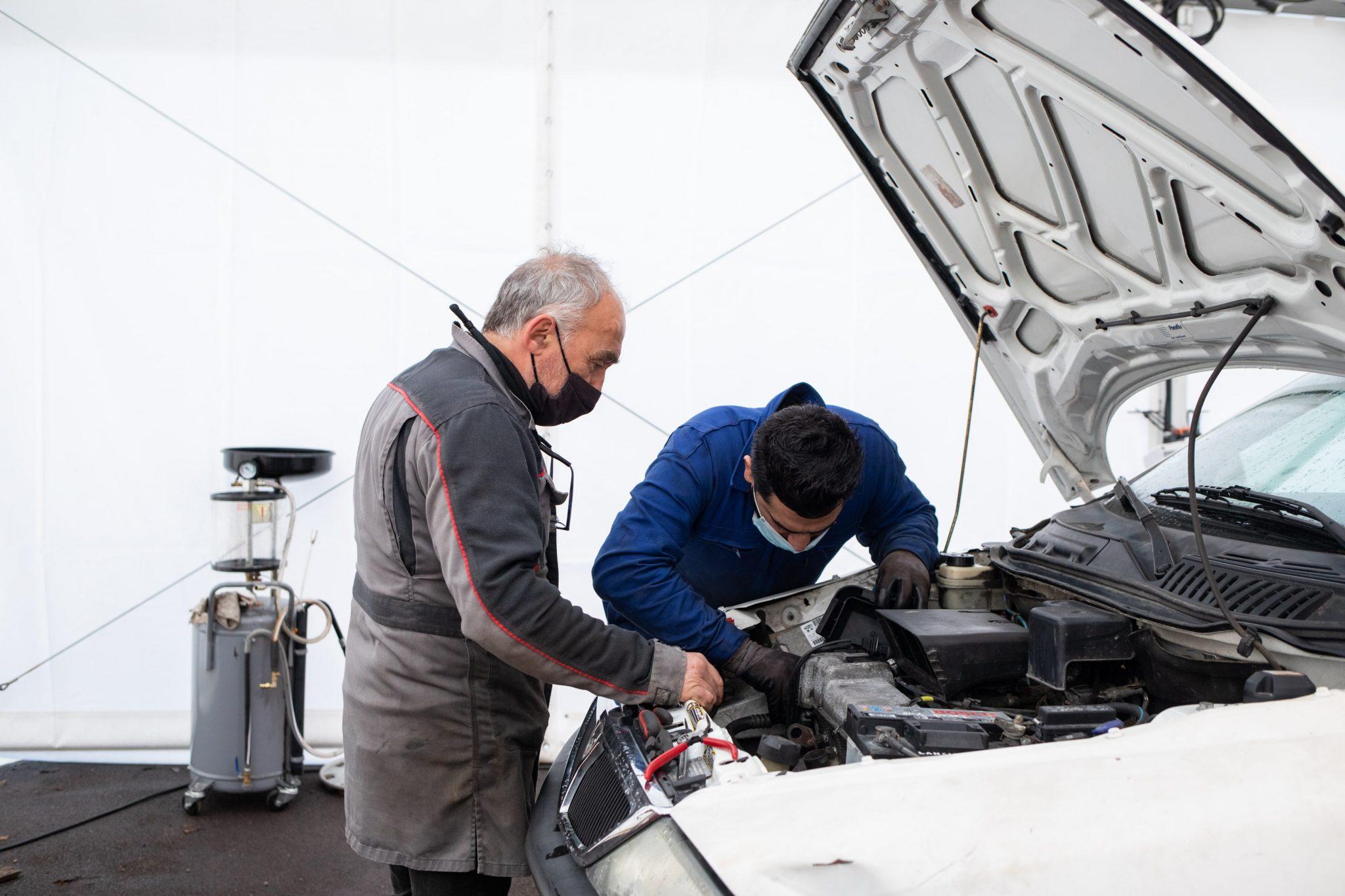 formation mécanique st Michel en Bretagne à Priziac