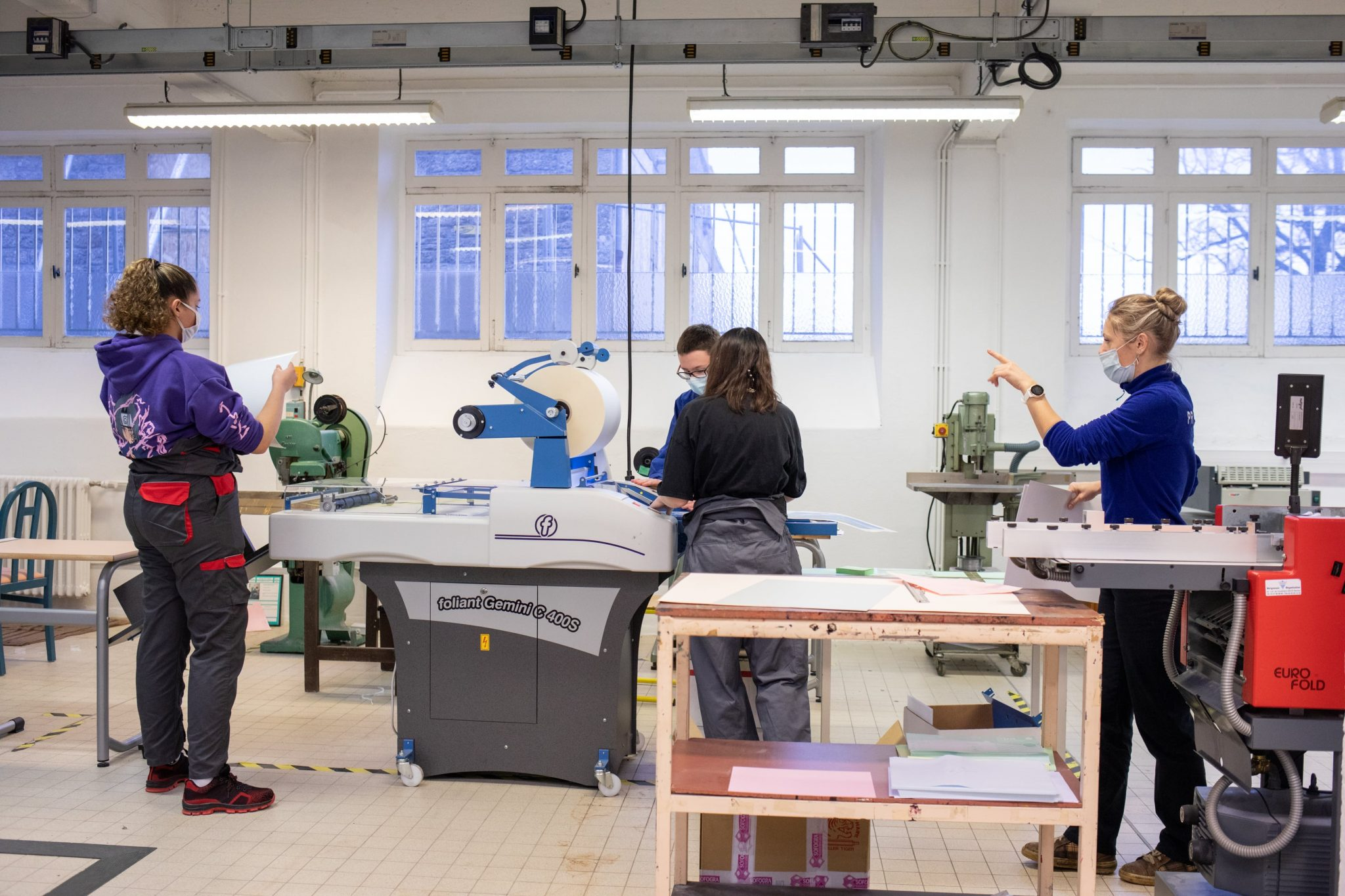 formation imprimerie st Michel en Bretagne à Priziac
