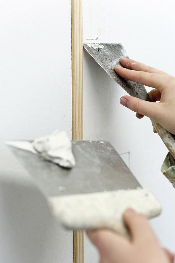 16, 17, 18 janvier 2012 atelier peinture au lycée professionnel Notre-Dame d'Apprentis d'Auteuil à La Loupe (28)