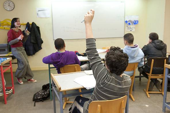 17 janvier 2012, collège Notre-Dame d'Apprentis d'Auteuil à La Loupe (28)