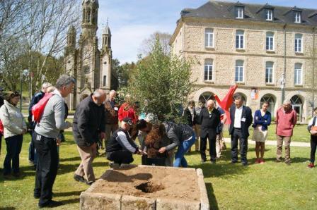 PLANTATION ARBRE JUBILE JOUR 1_Pèlerinage Bretagne