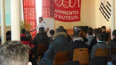 Intervention armées Lp St Michel Priziac