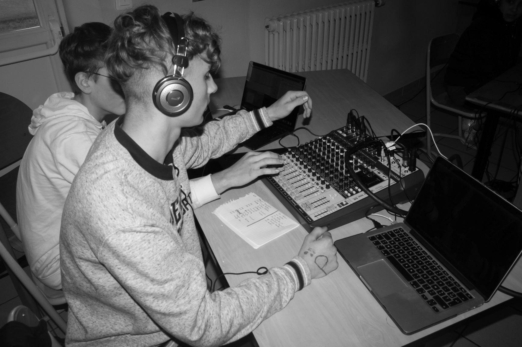 apprentissage technique de l'enregistrement d'une Web radio