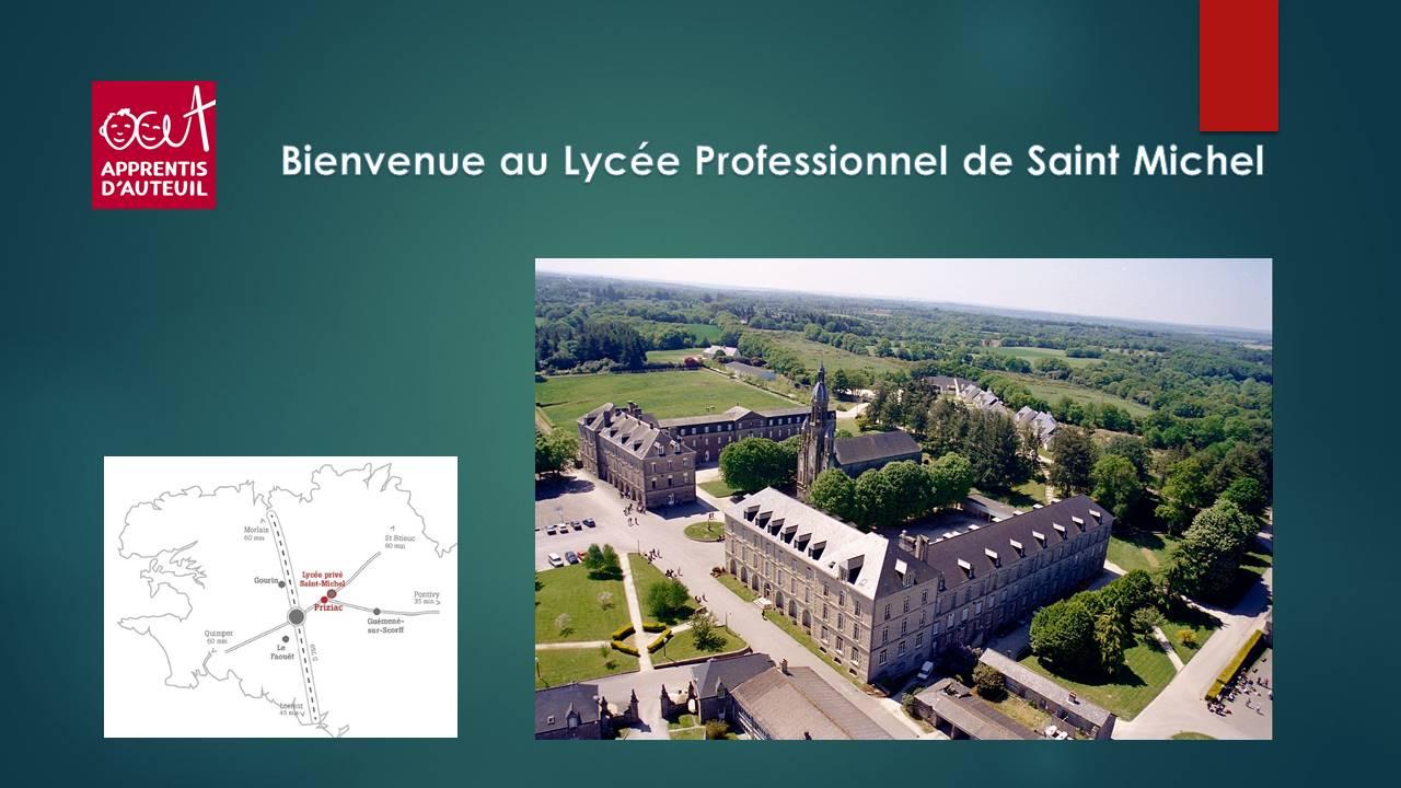 Bienvenue au Lycée Saint-Michel